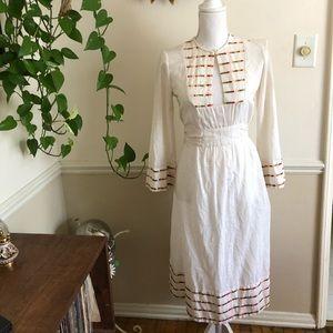 1970s Vintage Tunic Dress